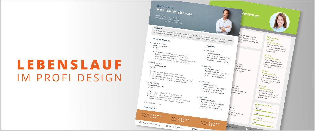 Professioneller Lebenslauf Design La59 Startupjobsfa