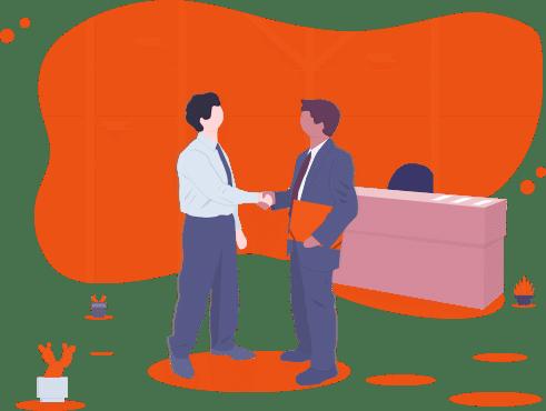 Büro Vorstellungsgespräch